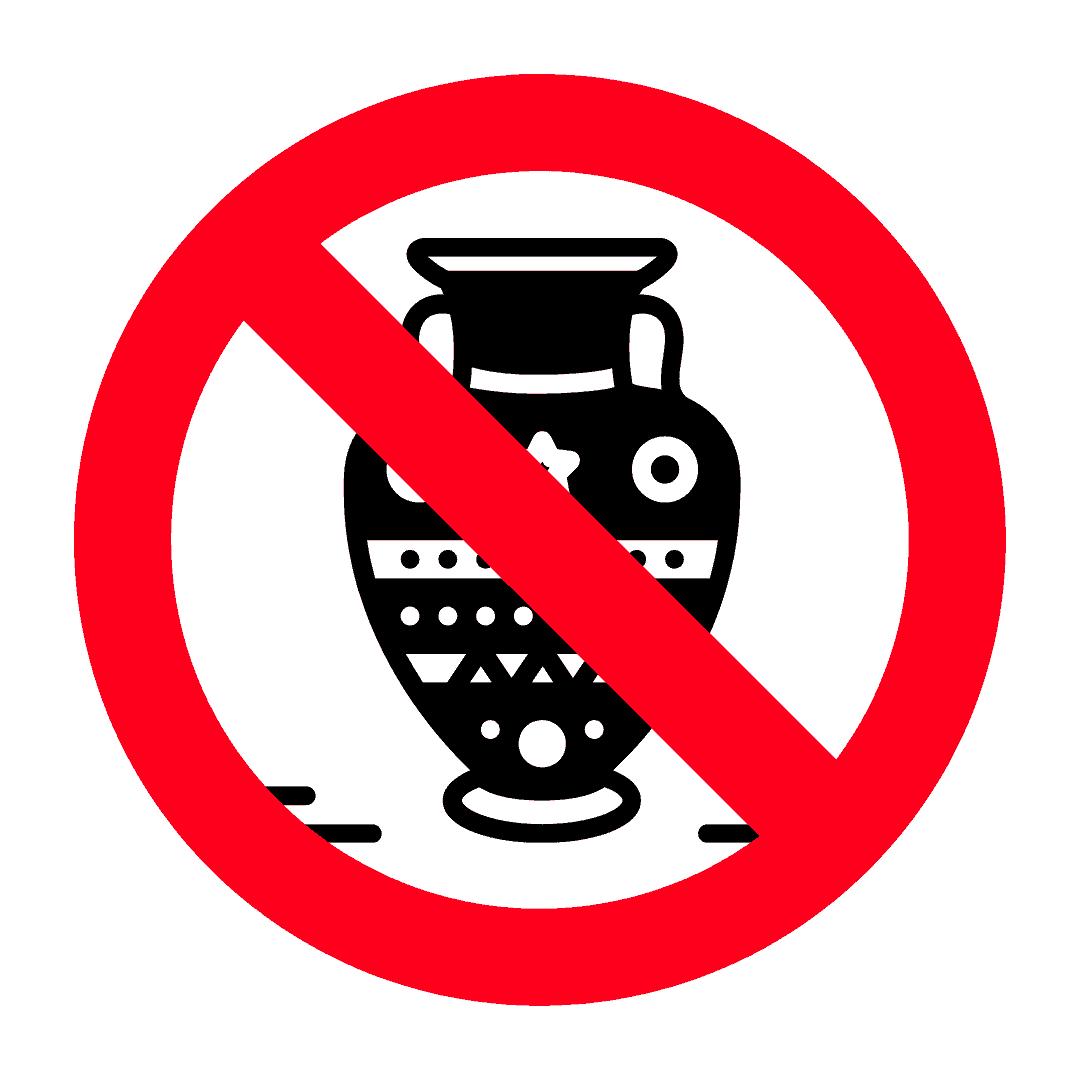 Antiquities not allowed