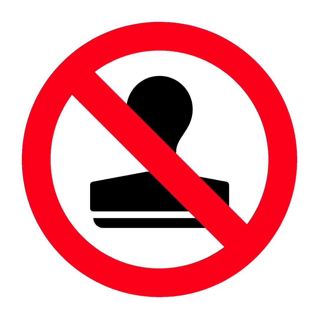 Meterai kerajaan atau rasmi palsu tidak dibenarkan untuk dieksport
