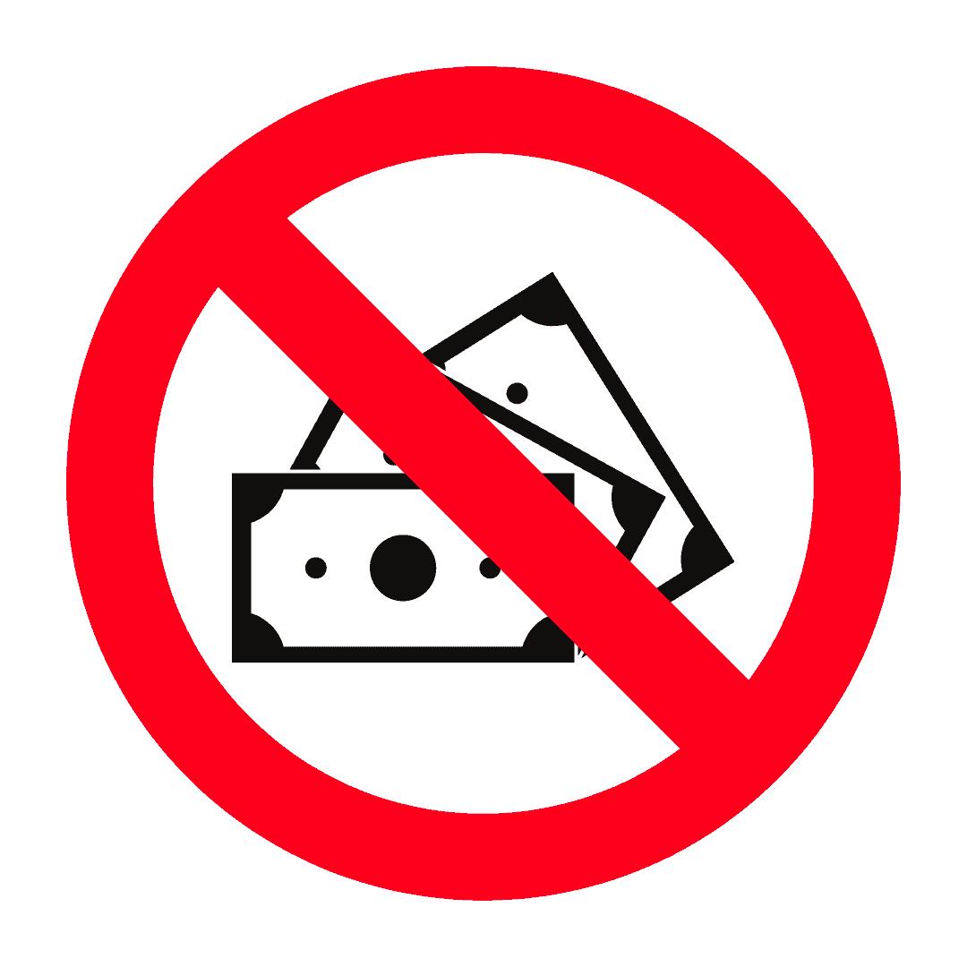 Mata wang palsu tidak dibenarkan