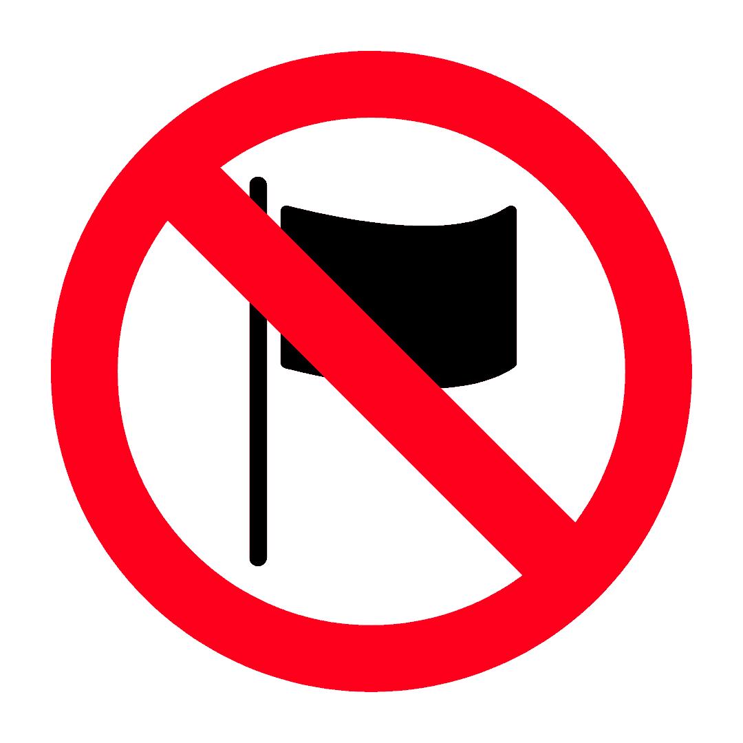 Barang dengan reka bentuk bendera Thailand yang tidak betul tidak boleh dieksport