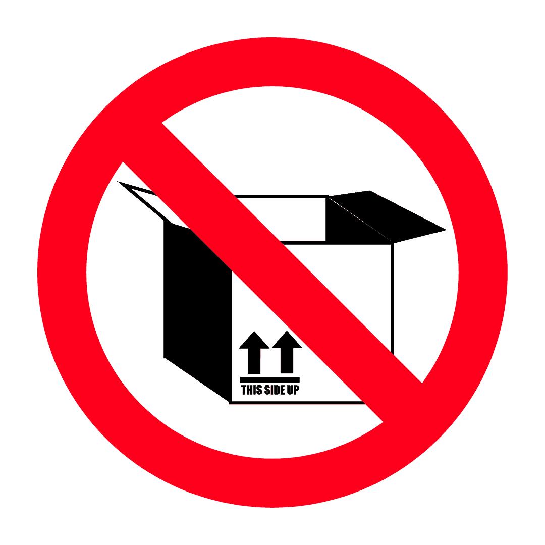 Barang terpakai dihantar tanpa pembungkusan pengeluar tidak dibenarkan untuk diimport