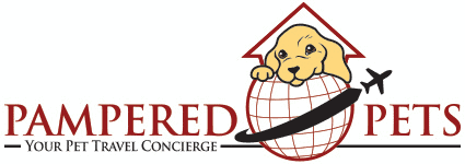logo of pampered pets